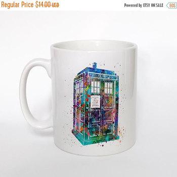 ON SALE 20% OFF Tardis From Dr Who Mug Tardis Mug Tardis Art Cup Coffee Mug Dr Who Cup Tea Mug Birthday Gift Coffee Cup Tardis From Dr Who M