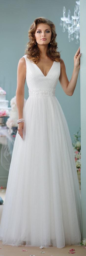Enchanting by Mon Cheri Spring 2016 ~Style No. 116133 #tulleweddingdress
