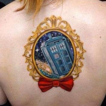 21 Doctor Who TARDIS Tattoos