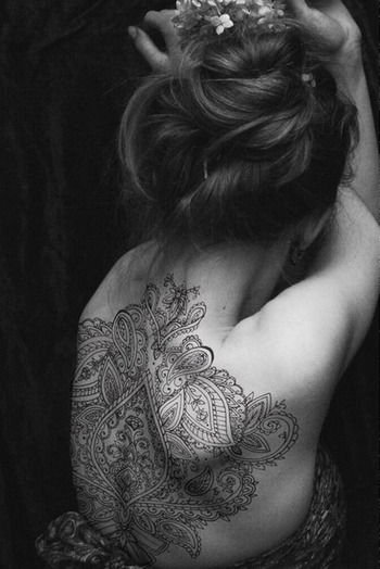 Awesome Tribal Tattoos for Girls on Back | Tattoos for Girls