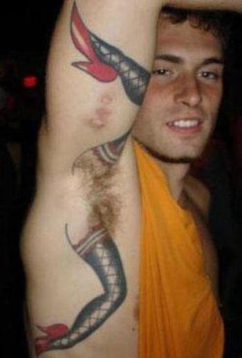 The Most WTF Tattoos You'll Ever See (10 Pics)