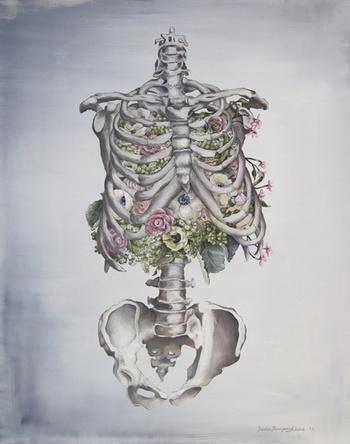 Floral Anatomy Art Print by Trisha Thompson Adams | Society6