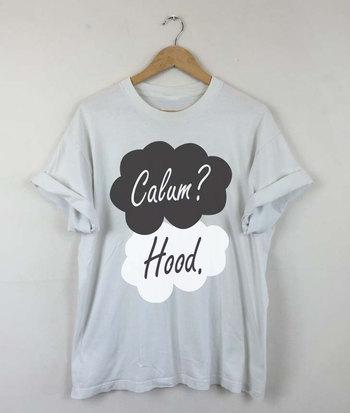 Okay Okay Calum Hood T-shirt, Calum Hood 2015, Calum Hood 5SOS, Calum Hood Quotes, Calum Hood Tattoo, Men and Women Shirt