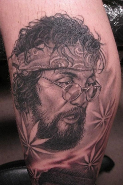 Chong tattoo by bob tyrrell original