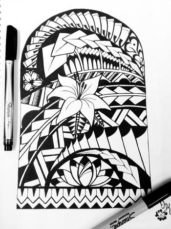 Samoan Tattoo Design Idea Photos Images Pictures