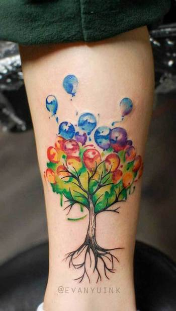 40 Achingly Beautiful Tree Tattoos - TATTOOBLEND
