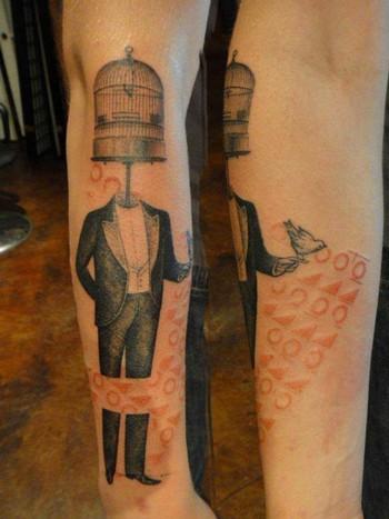 16 Open-Minded Birdcage Tattoos | Tattoodo.com