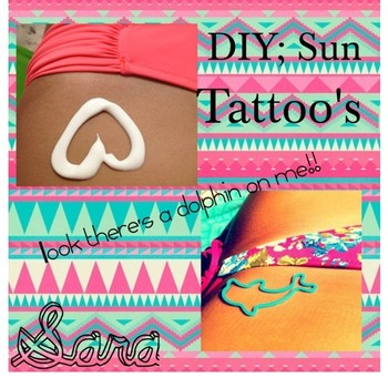 """""""DIY: Sun Tattoo"""" by the-diy-tipster-girls on Polyvore"""