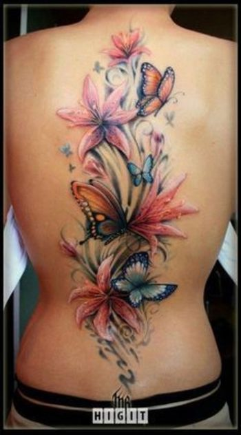 Floral Tattoos - Design and Ideas   InkDoneRight.com Floral tattoos have been considered as feminine