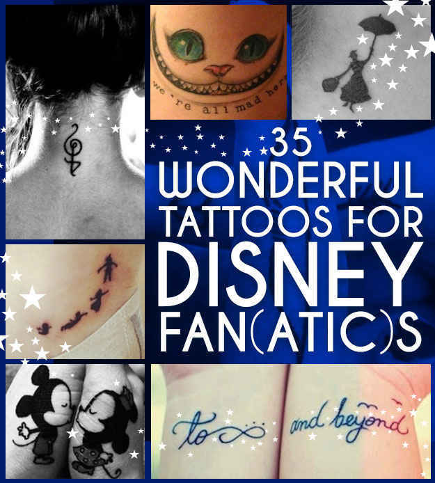 35 wonderful tattoos for disney fan atic s original