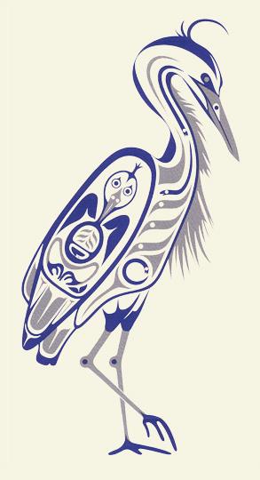 Blue heron print via http www aprilwhite com art v serigraphs blueheron blueheronii jpg html original