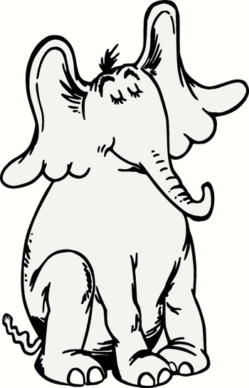 horton hears a who characters coloring pages - Google Search