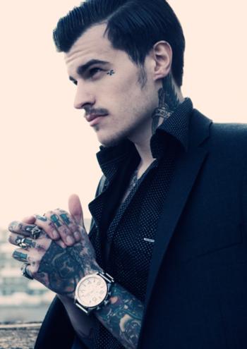 40 Fotos de homens tatuados