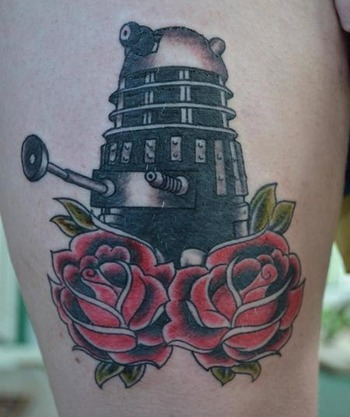 12 Doctor Who Tattoos