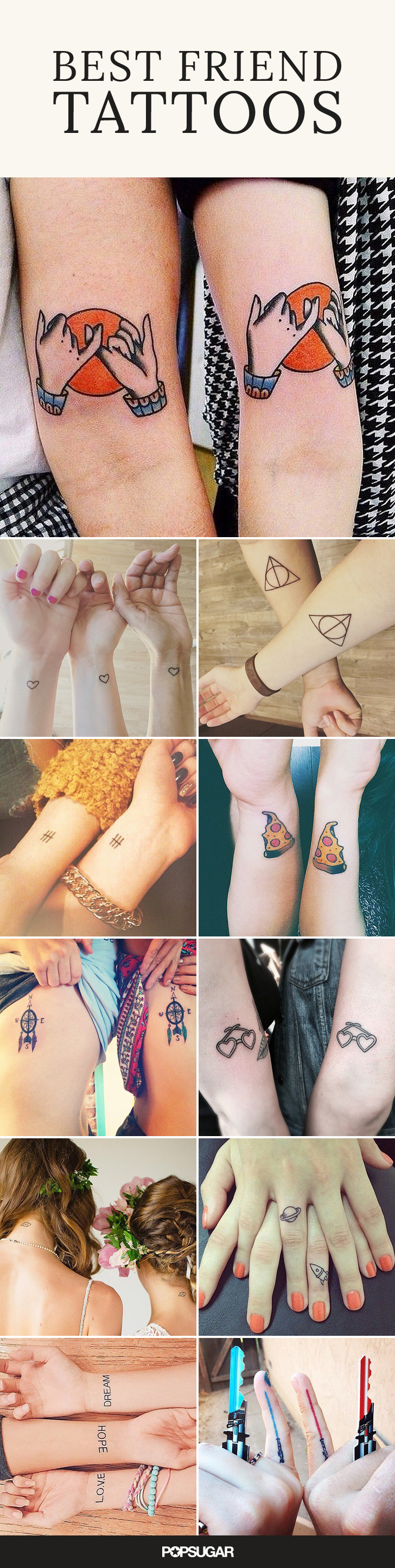 55 creative tattoos you ll want to get with your best friend 4108346f 10bb 4991 9d89 53a6deede096 original