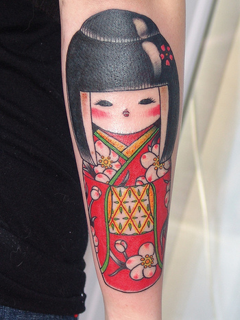 Photo: Japanese Doll Tattoo - November 30, 2004 | Lurvely
