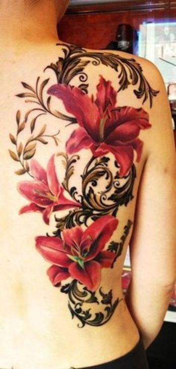 Floral Tattoos - Design and Ideas |