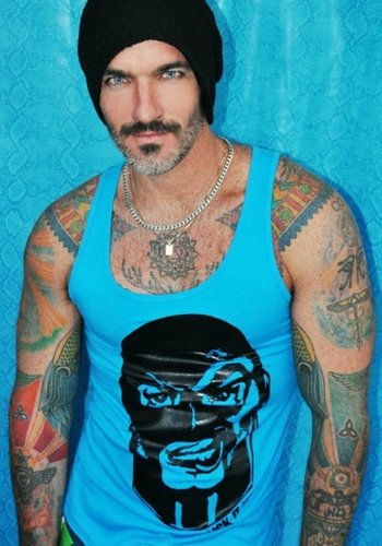 I would actually consider getting a tattoo of this man all over my body LOL