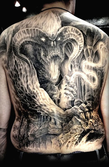 Realism Movies Tattoo by Nicko Metalink