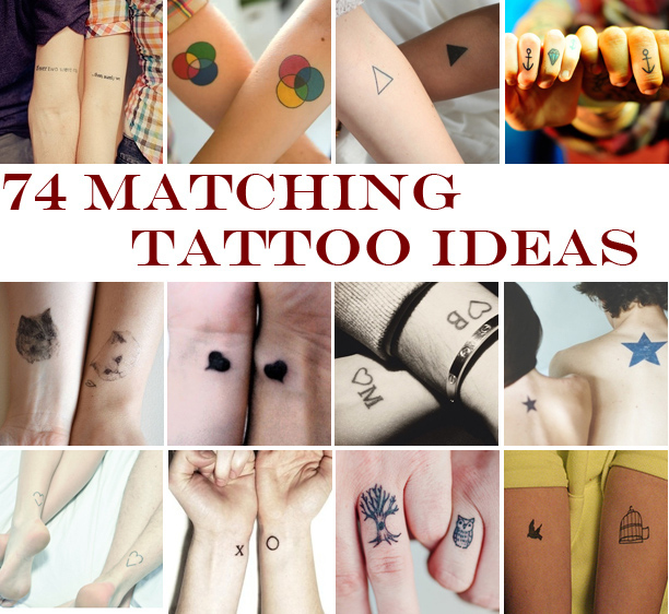 74 matching tattoo ideas to share with someone you love original