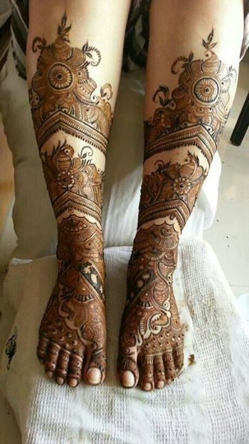 """In India, any festival and marriage is incomplete without """"Mehendi application"""" because it's a part o"""
