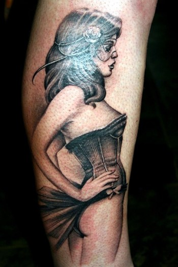 55 Pin Up Girl Tattoos You Will Fall in Love With