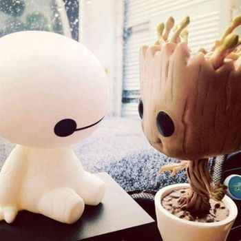 "Art / Crafts Promotions on Instagram: ""The cuteness in this pic has no chill. ❤ #disney #wdw #baymax #groot"""