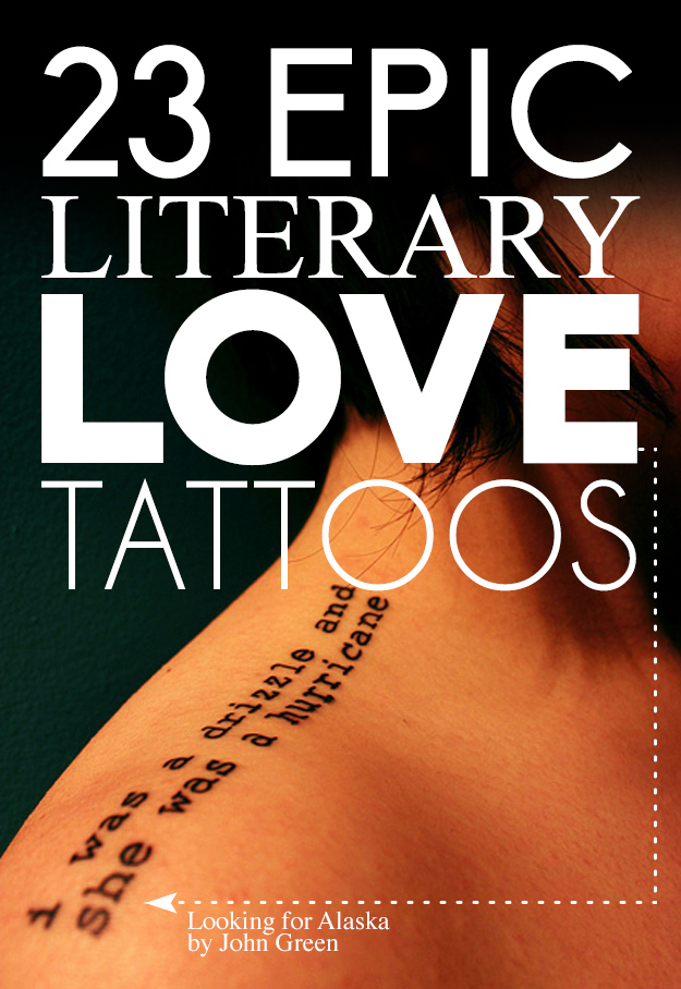 23 epic literary love tattoos original