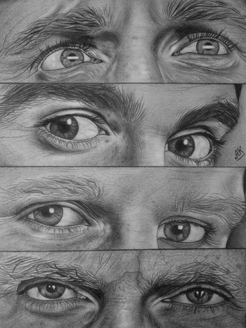 The Doctor's eyes by AnastasiyaKosenko on deviantART