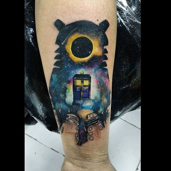 doctor who tattoos - Google Search