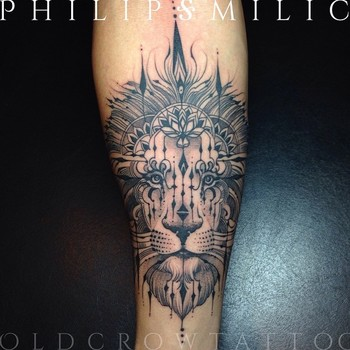 Philip Milic @pmtattoos The lion tends to...Instagram photo   Websta