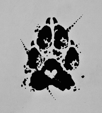 Pawprint tattoo commission by Edeneue on deviantART