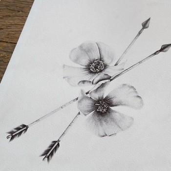 Tattoo Idea: Arrows & Cherokee Roses