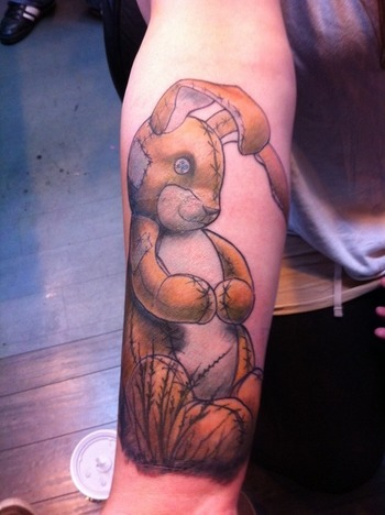 Velveteen Rabbit Tattoo- A favourite book of mine as a child