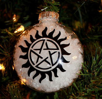 Supernatural Anti Possession Tattoo Ornament
