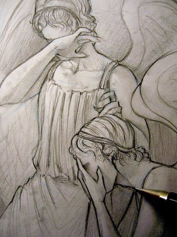 Doctor Who - Don't blink - Weeping Angels by Lehanan.deviantart.com on @deviantART