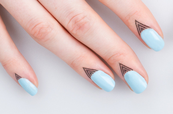 Cuticle tattoos a new way to dress up your nails original