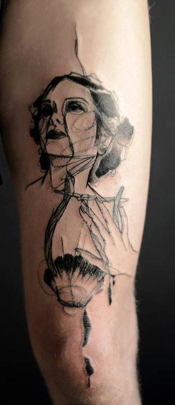 Abstract Tattoo By Marta Lipinski   Best tattoo design ideas