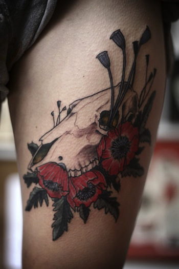 Tattoos by Alice Carrier - Inked Magazine