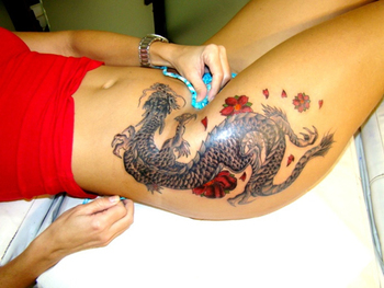 30 Awesome Dragon Tattoo Designs | Cuded
