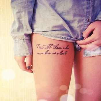 Best 60 Sexy Thigh Tattoo Designs and Ideas for Girls