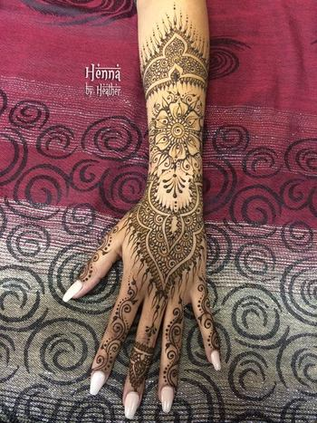 Breathing New Life into an Old Favorite Henna Design - Henna by Heather