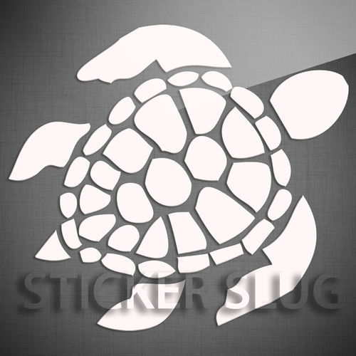 sea turtle ocean animal decal sticker vinyl custom wall
