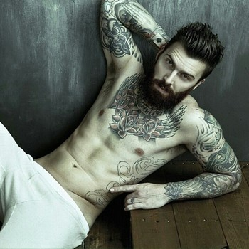 Levi Stocke - This hairstyle!! I already know it will look good with my man's beard so it's a go! Now