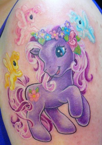 We Are All Wasted: My Little Pony Tattoo