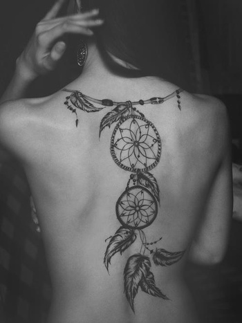 dream catchers if I had the back