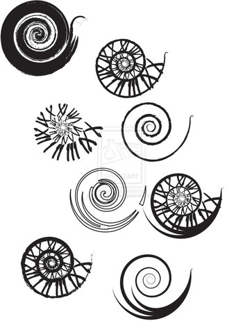 Clockwork Spiral Tattoo Designs by UrbanManitou on deviantART