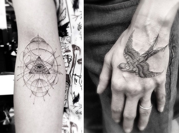 12 Spectacular Geometric Tattoos That Are Beyond Perfect