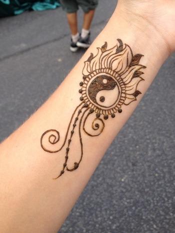 50 Fantastic Henna Tattoos