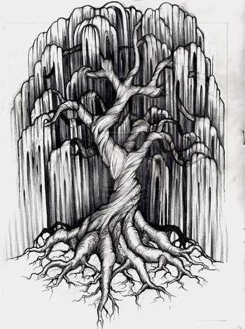 Willow Tree Tattoo by aluc23 on deviantART